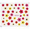 Flower Mixed Design Nail Art Manicure Decals Stickers - #4