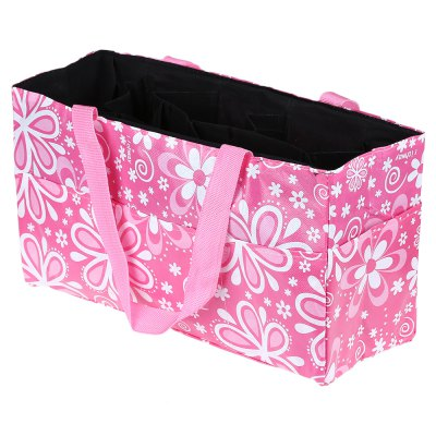 Flower Print Waterproof Separate Mummy Handbag