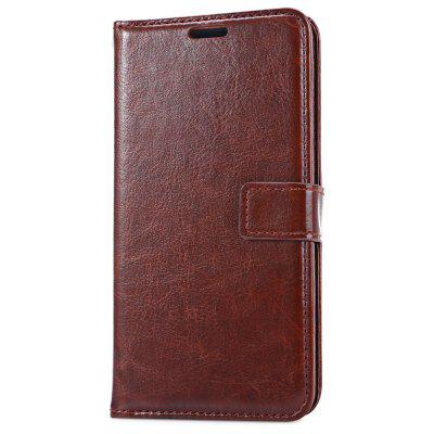 Leather Wallet Card Slot Cover for Samsung A510