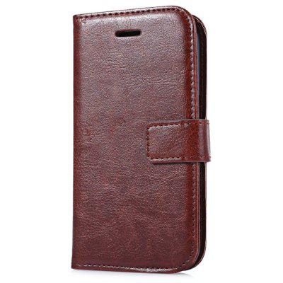 Leather Wallet Card Slot Cover for Samsung G360