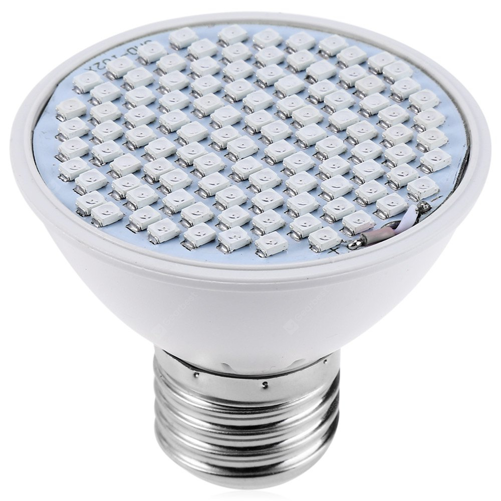 E27 6W SMD 3528 LED Grow Light with 106 LEDs - $4.34 Free Shipping ...