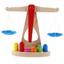 Wooden Balance Scale Early Learning Toys