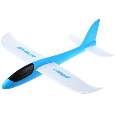 Foam Glider Hand Throwing Flying Airplane Aeroplane Model DIY Kid Toy
