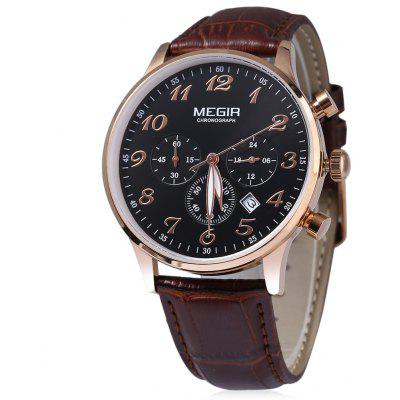 MEGIR M2022 Men Quartz Sport Watch