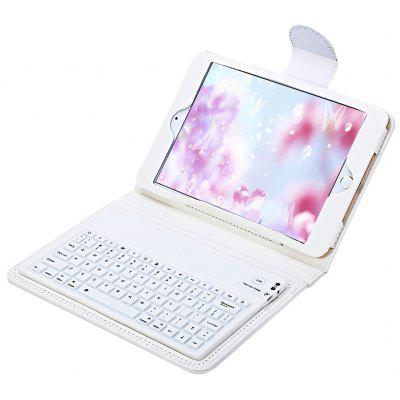 Wireless Bluetooth 3.0 Keyboard Leather Case for iPad Mini/2/3/4