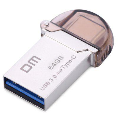 DM PD019 64GB USB 3.0 Metal Micro USB Type - C 3.1 U Disk
