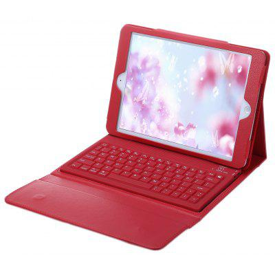 Wireless Bluetooth 3.0 Keyboard PU Leather Case for iPad Air / 2