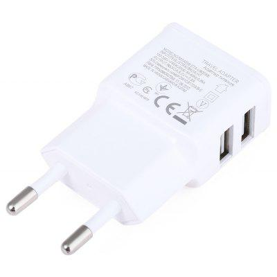 2 USB Ports Home Wall Power Supply Adapter Charger