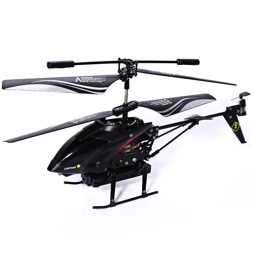 S977 3.5CH RC Rádio Metal Gyro Helicopter