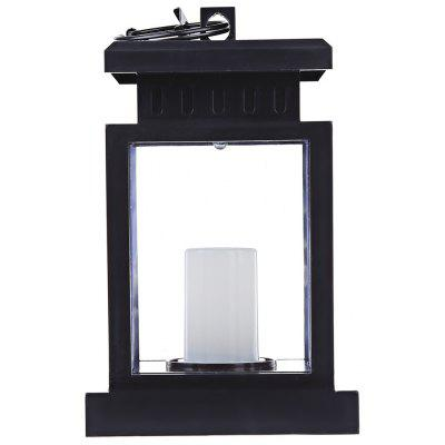 Solar Powered LED Outdoor Candle Lantern