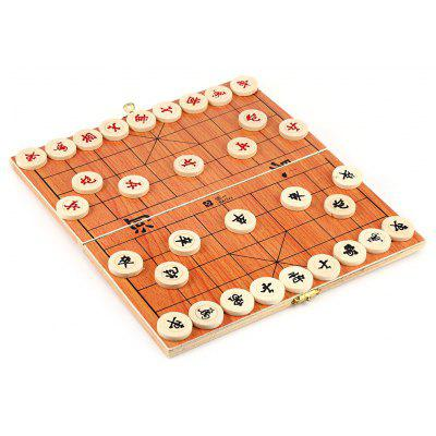 Wooden Chinese Chess Educational Game Toy