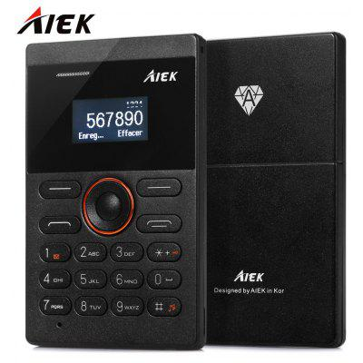 AIEK E1 1.0 inch Quad Band Card Phone