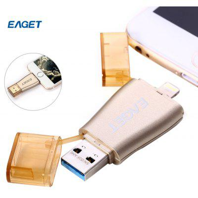 EAGET I50 128GB USB 3.0 OTG Flash Drive