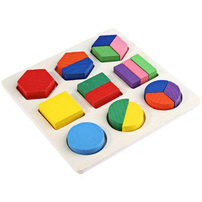 Wooden 3D Geometry Puzzle Toy