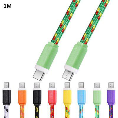 1M Type C to Type C Type-C Sync Data Cable
