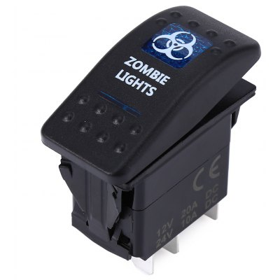 5pin Zombie Lights Rocker Switch