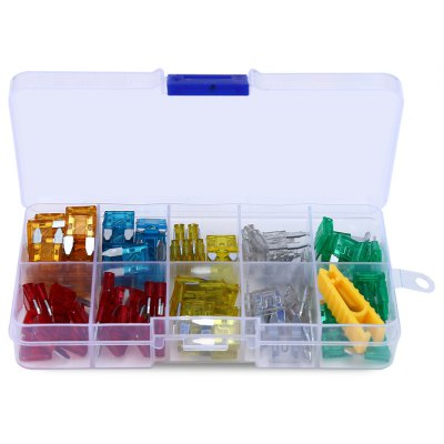 F407 - Z 120pcs Car Mini Blade Type Fuse Assortment Kit
