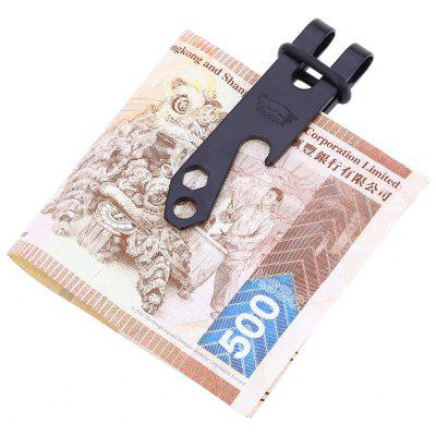 EDCGEAR Waist Belt Keychain Bottle Opener Money Clip