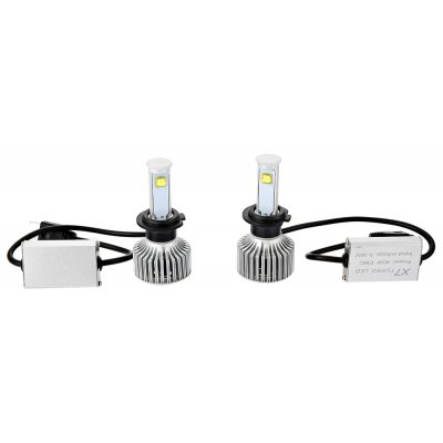 H7 - A 6000K X7 LED Headlight Bulbs