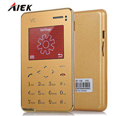 AIEK V5 Quad Band Card Phone 1.8 inch