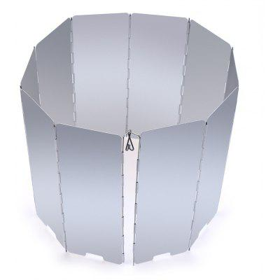 10 Plates Folding Camp Stove Windshield