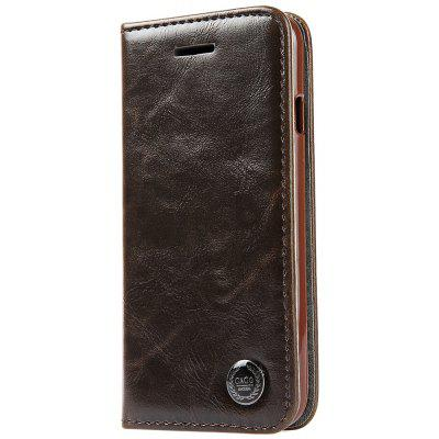 Luxury Series Magnetic Flip PU Leather Wallet Cover for iPhone 6 / 6S