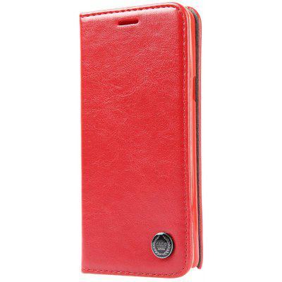 Luxury Series Magnetic Flip PU Leather Wallet Cover for Samsung Note 5