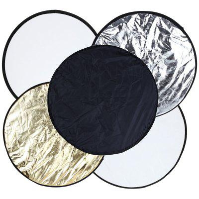 24 inch 60cm 5 in 1 Collapsible Portable Multi-disc Photography Lighting Reflector