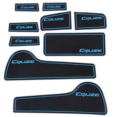 9pcs Car Gate Slot Pad for Chevrolet Cruze