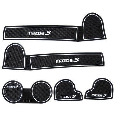 5pcs Car Gate Slot Pad for Mazda3