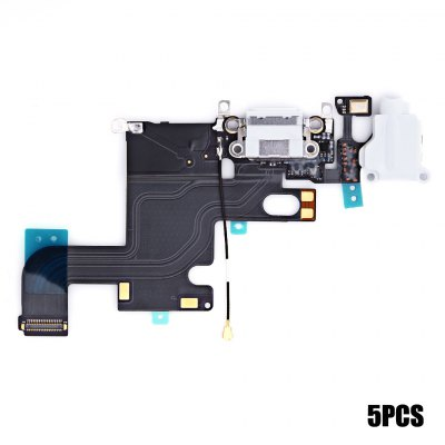 5Pcs Charging Port Replacements for iPhone 6