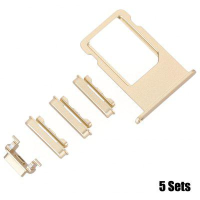 5Pcs SIM Card Tray Slot Repair Parts for iPhone 6 Plus