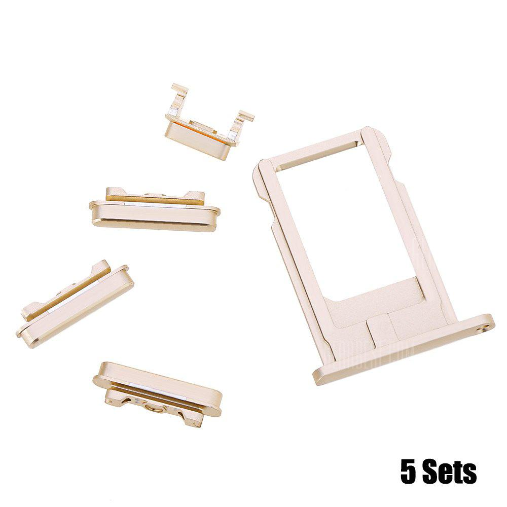 5 Sets SIM Card Tray Slot Repair Parts for iPhone 6