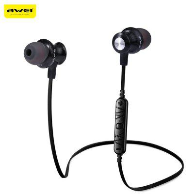 Awei A980BL Sports Earphone Bluetooth with Handsfree Songs Track Function