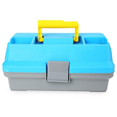 3 Layer Multifunctional Carp Fishing Tackle Plastic Handle Box