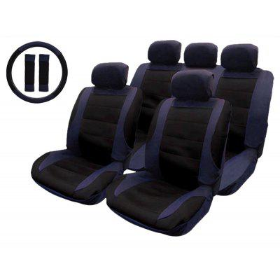 T21806 14pcs Mesh Fabrics Car Seat Cover