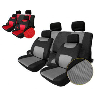 T22507GR 10pcs Car Seat Cover Set