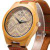 best REDEAR SJ 1448 - 6 Wooden Male Quartz Watch