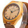 REDEAR SJ 1448 - 8 Wooden Female Quartz Watch - GREEN + BROWN