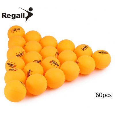 REGAIL 60pcs Table Tennis Ping Pong Ball
