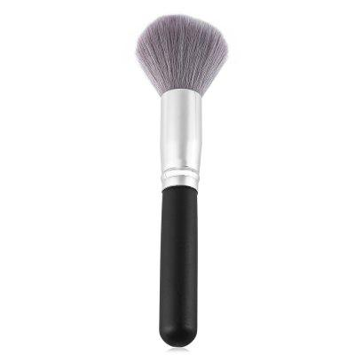 Single Antibacterial Bamboo Charcoal Fiber Powder Blush Brush Tool