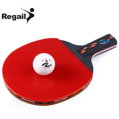 REGAIL D003 Table Tennis Ping Pong Racket Set - $7.84 Free Shipping ...
