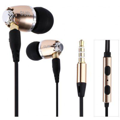 JBMMJ SUR S520 In-ear Stereo Super Bass Detachable Wire Earphones