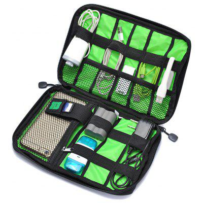 Фото - Digital Accessories Storage Pouch Case Travel Organizer Bag women cosmetic bag travel lattice pattern makeup case zipper make up bags organizer storage pouch toiletry kit wash beauty bags