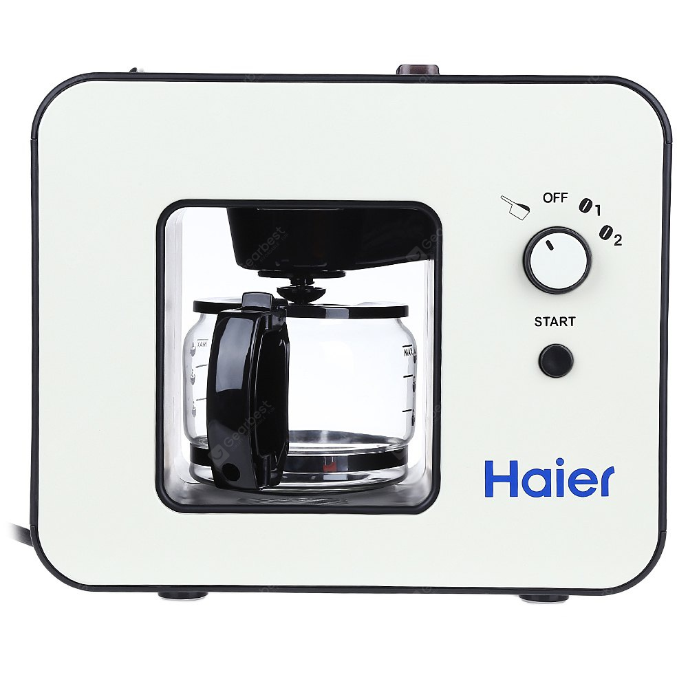 BLACK Haier BH8268 Coffee Maker Presented by Haier