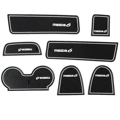 7pcs Car Gate Slot Pad for Mazda 6