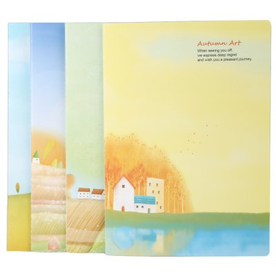 4pcs Colorful B5 Paper Notebook