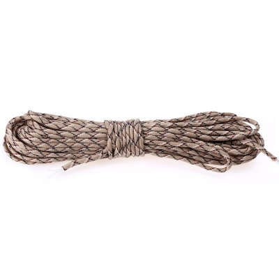 Outdoor Multifunctional 7 Core ParacordOther Camping Gadgets<br>Outdoor Multifunctional 7 Core Paracord<br><br>Package Contents: 1 x Outdoor Multifunctional 7 Core Umbrella Rope<br>Package Size(L x W x H): 23.00 x 5.00 x 3.00 cm / 9.06 x 1.97 x 1.18 inches<br>Package weight: 0.0320 kg