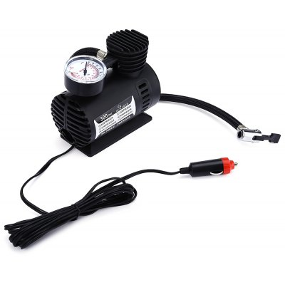 Car Inflatable Mini Tire Pump Air Compressor