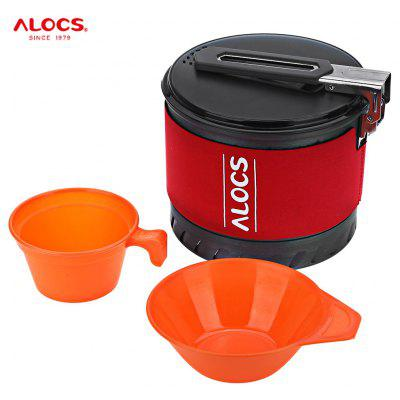 ALOCS CW - S10 Outdoor 1.3L Non-stick Camping Pot